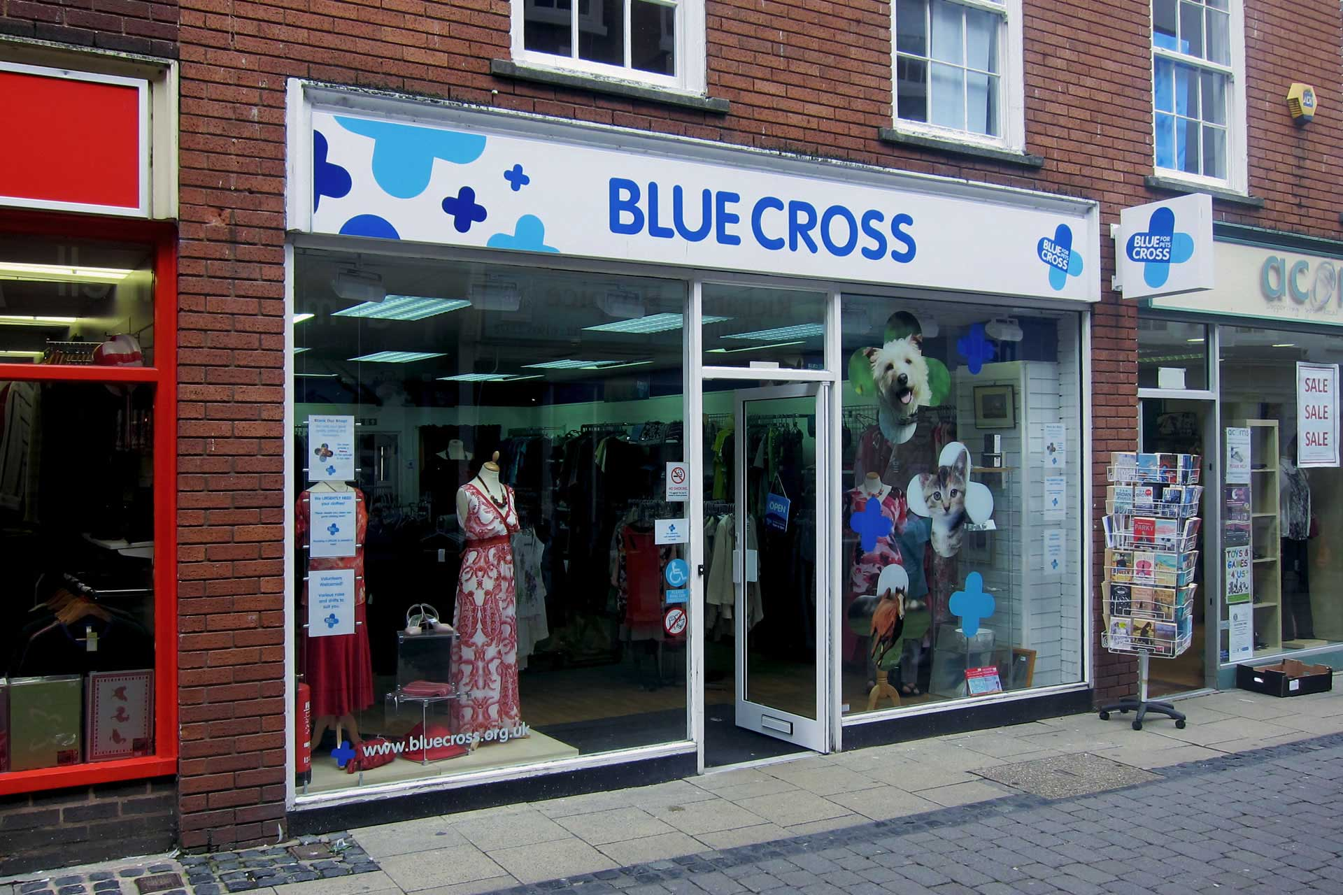 Blue Cross Worcester Shop