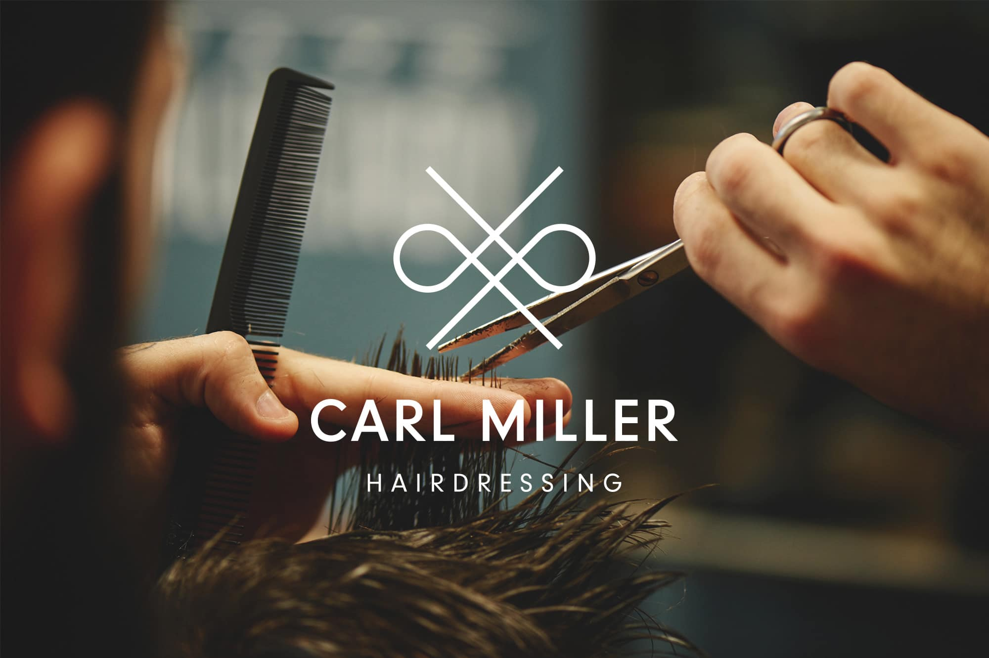 Carl Miller Hairdressing Logo