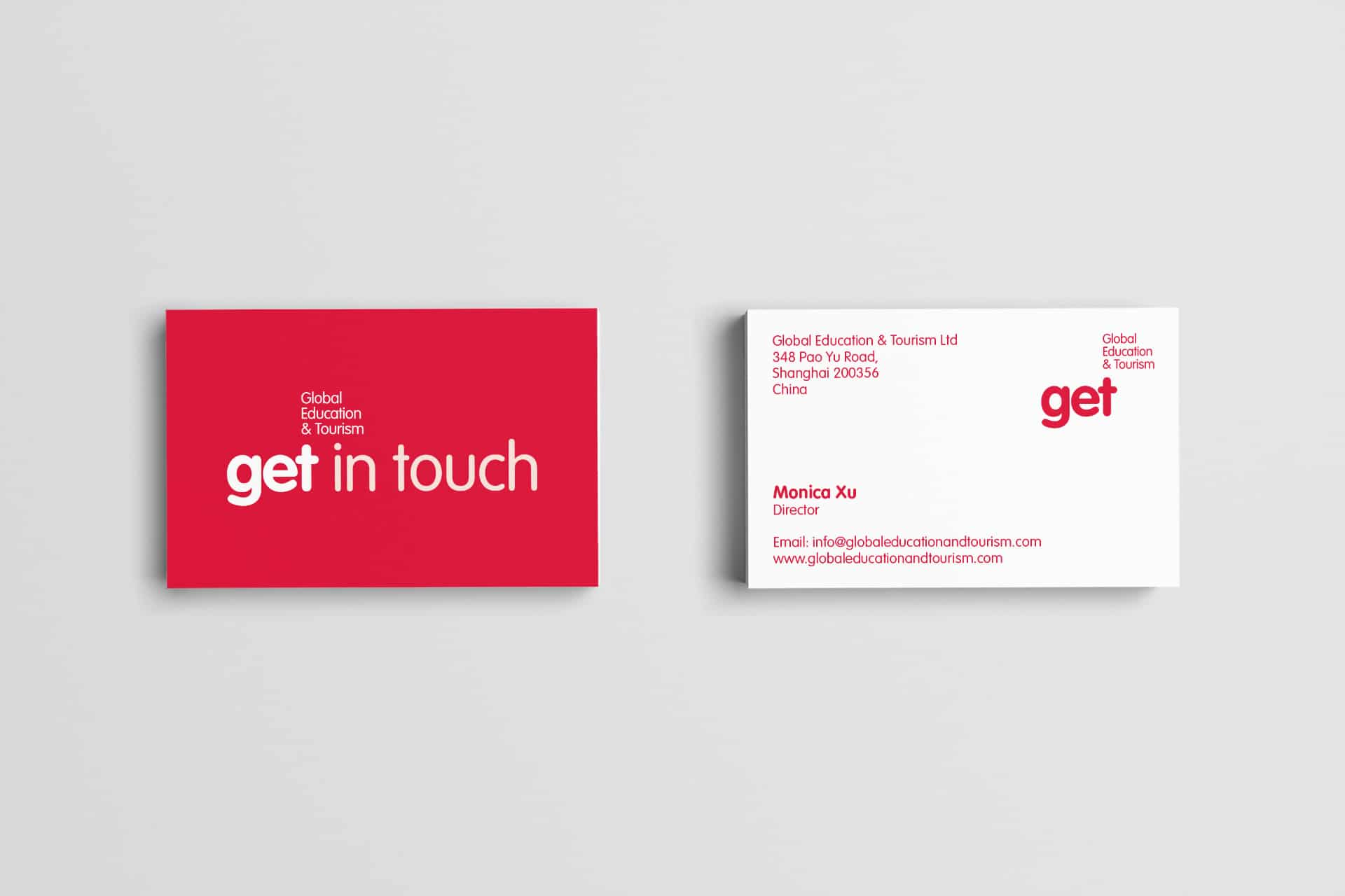 Global Education and Tourism Business Card