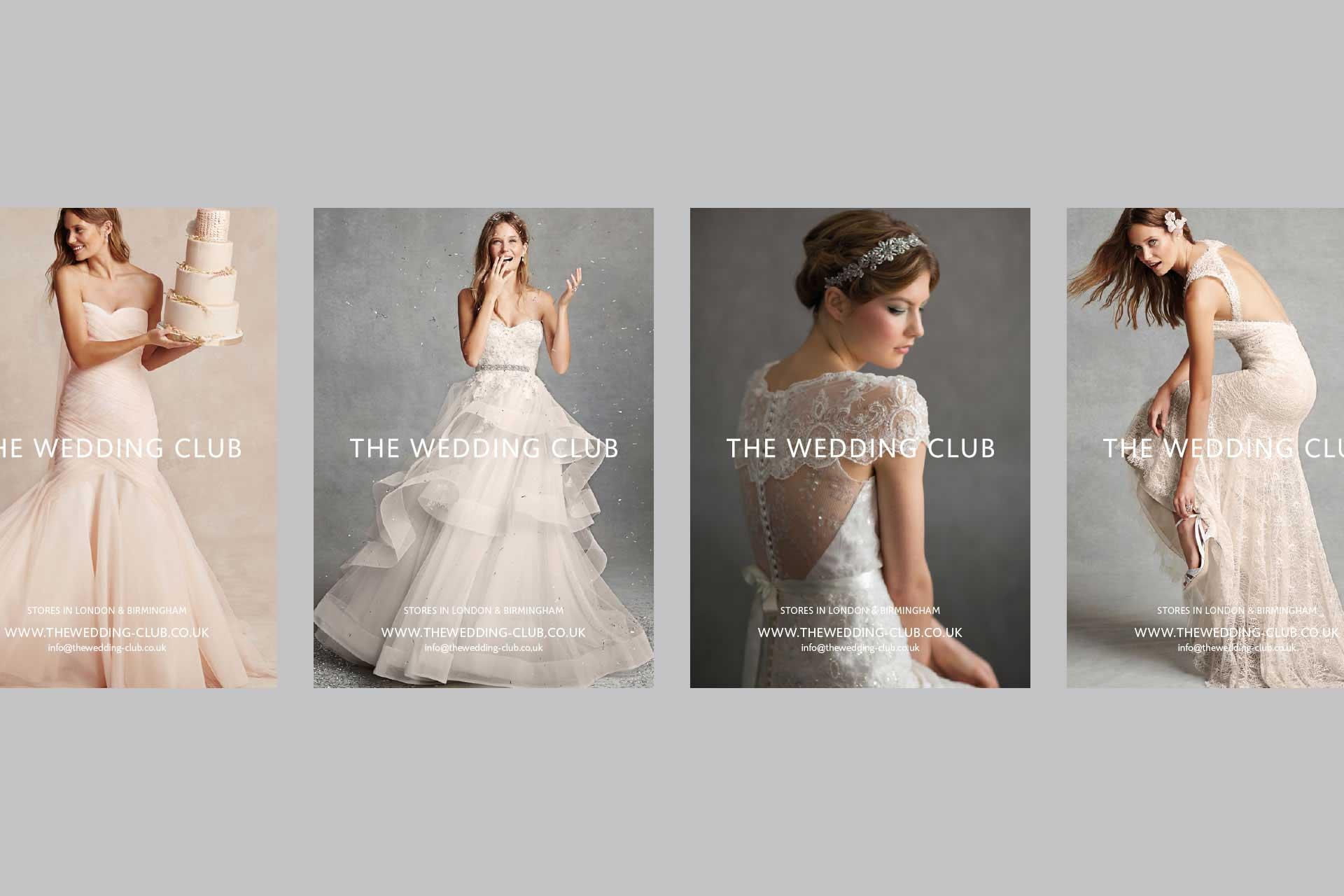 The Wedding Club Flyers