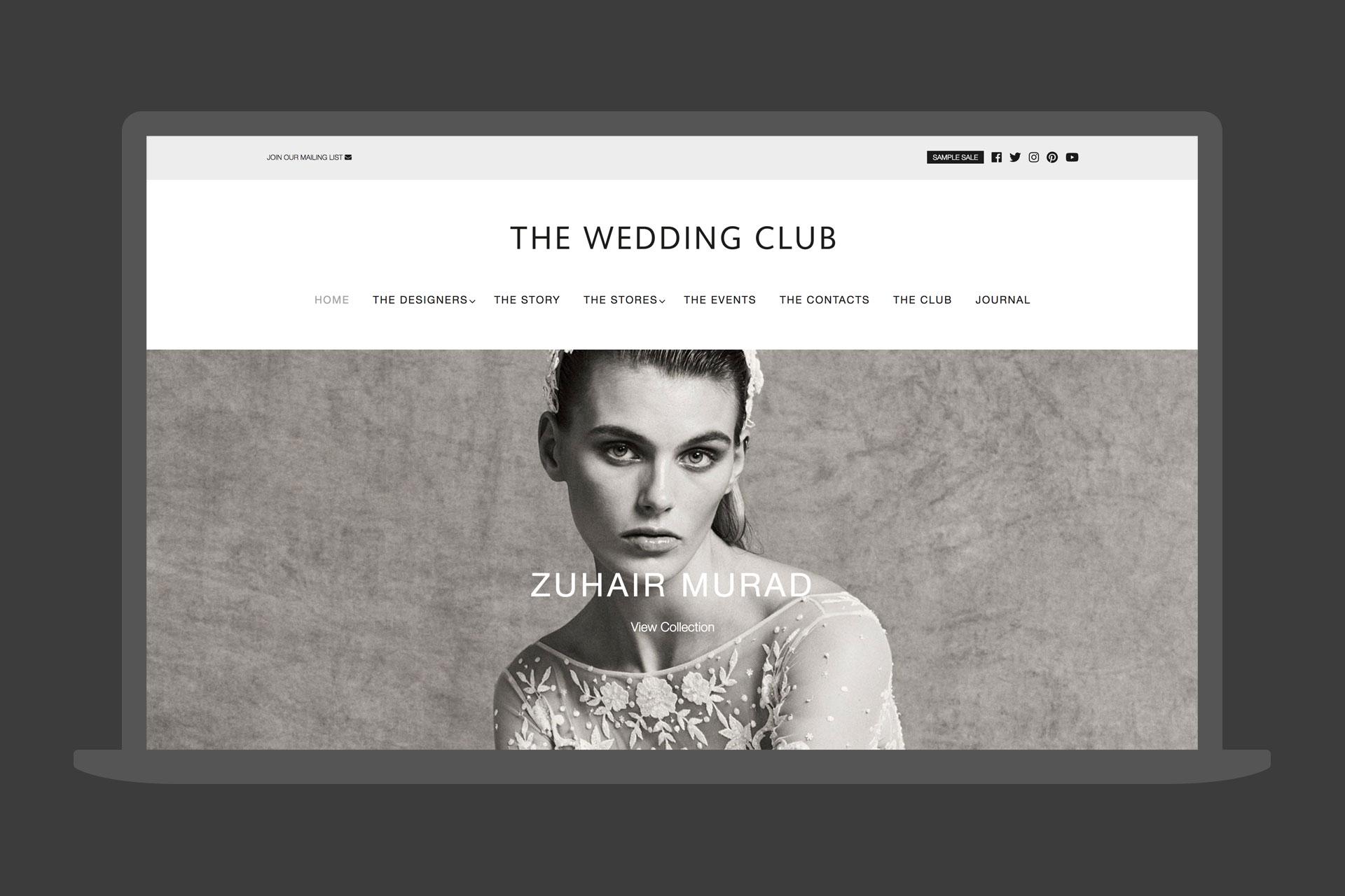 The Wedding Club Website