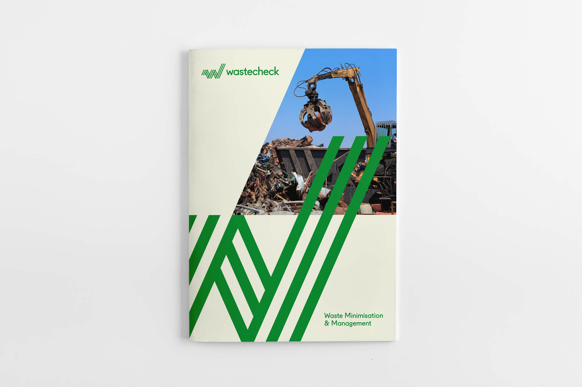 Wastecheck Brochure Cover