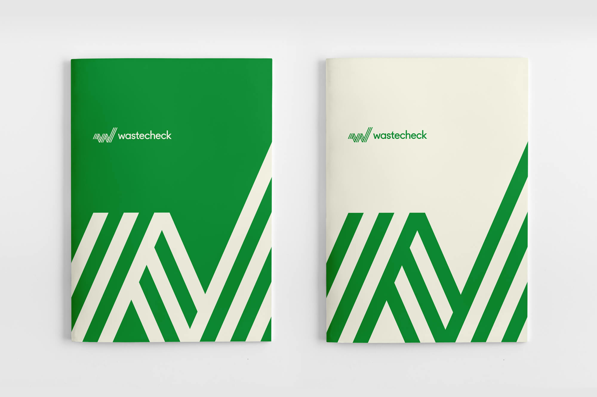 Wastecheck Brochure Covers