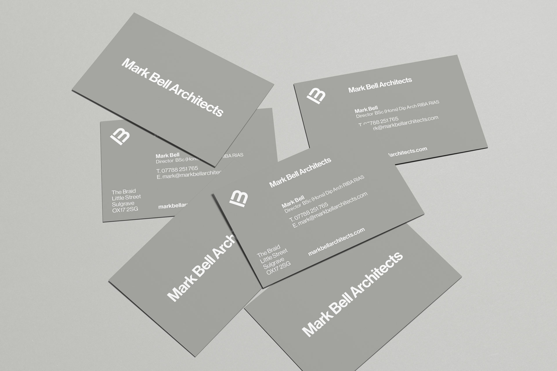 Mark Bell Architects Business Cards