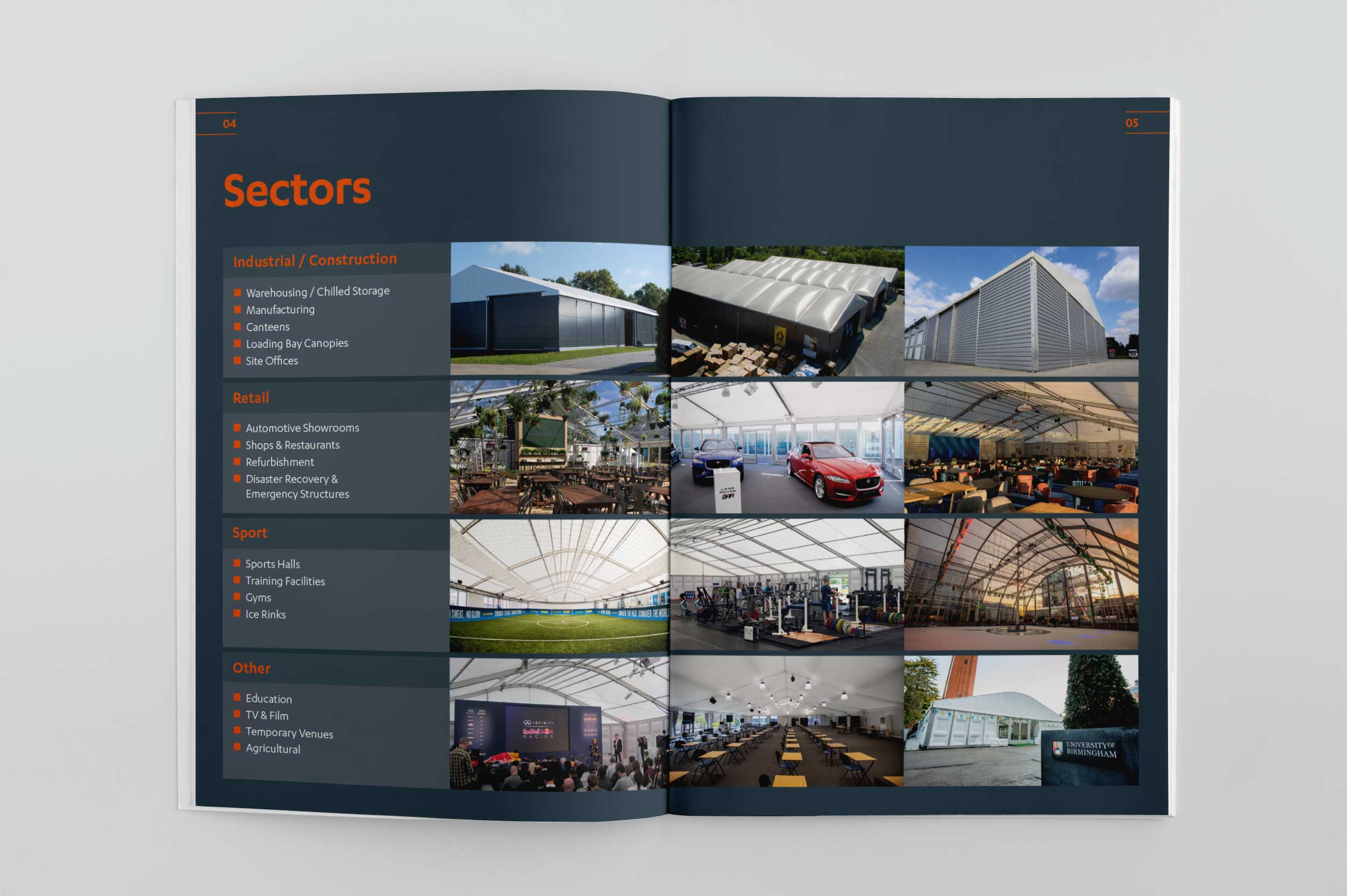 Fews brochure spread