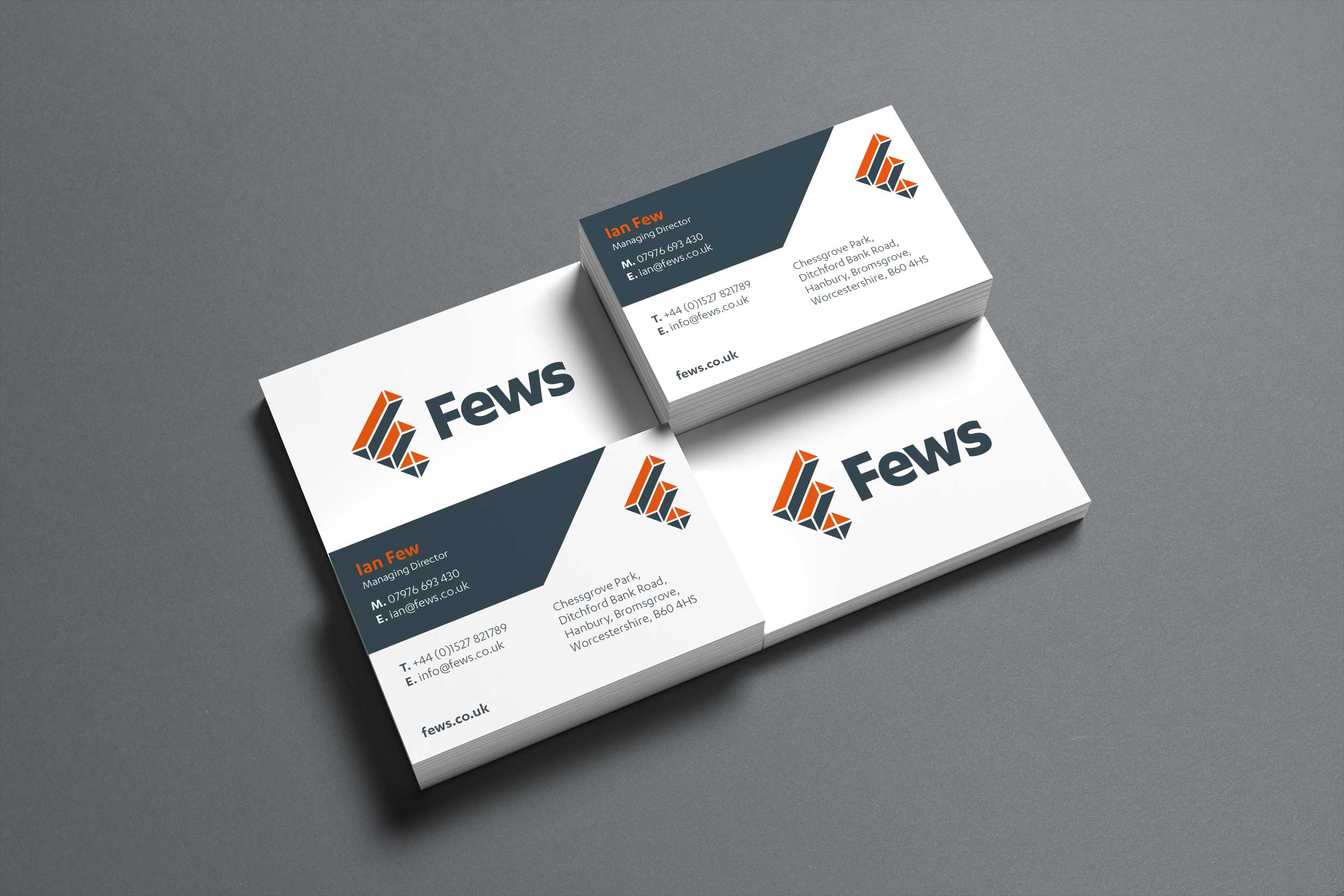 Fews business cards